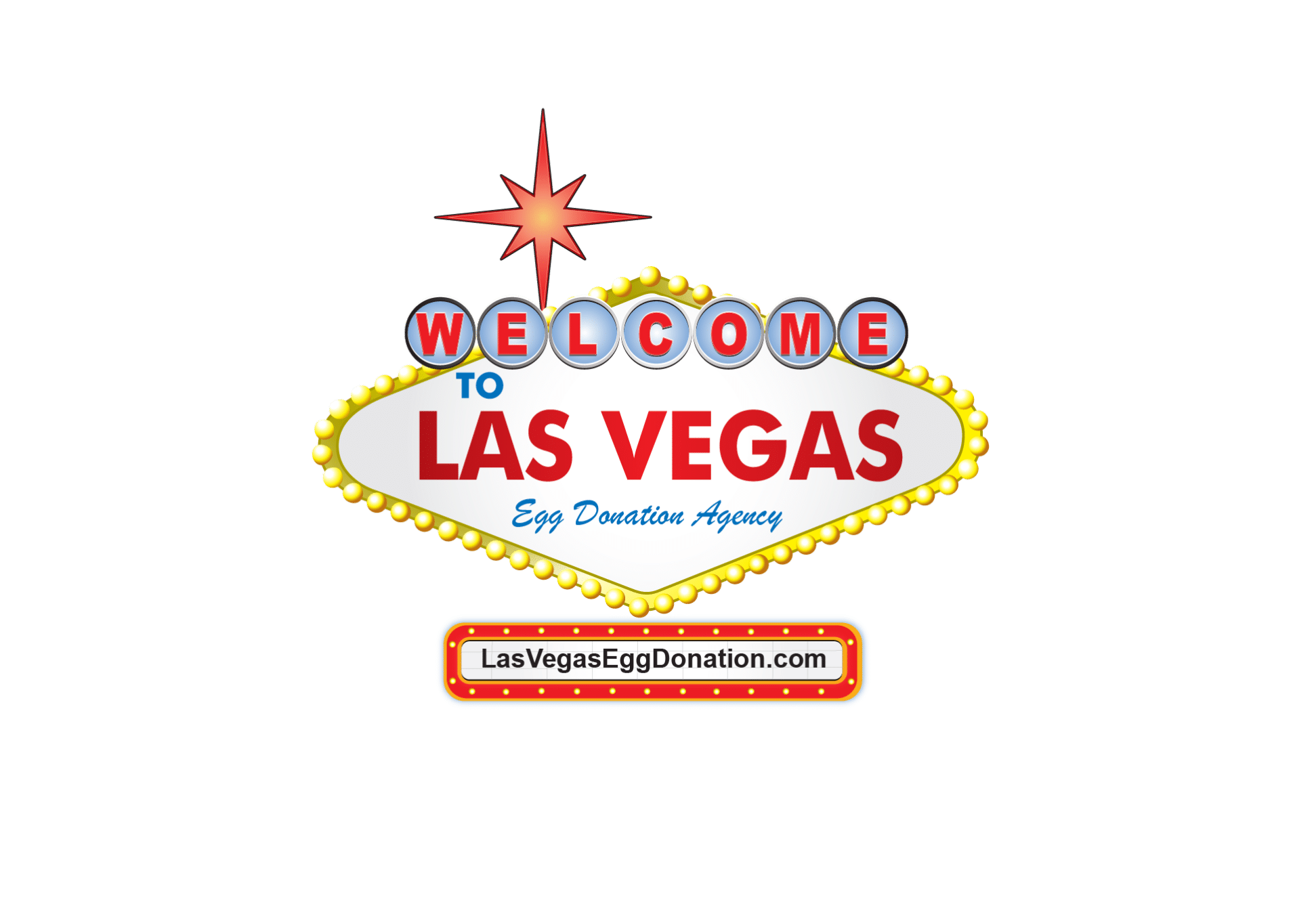 Las Vegas Egg Donation Welcome Sign